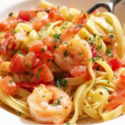 Prawn and Chilli Fettuccine