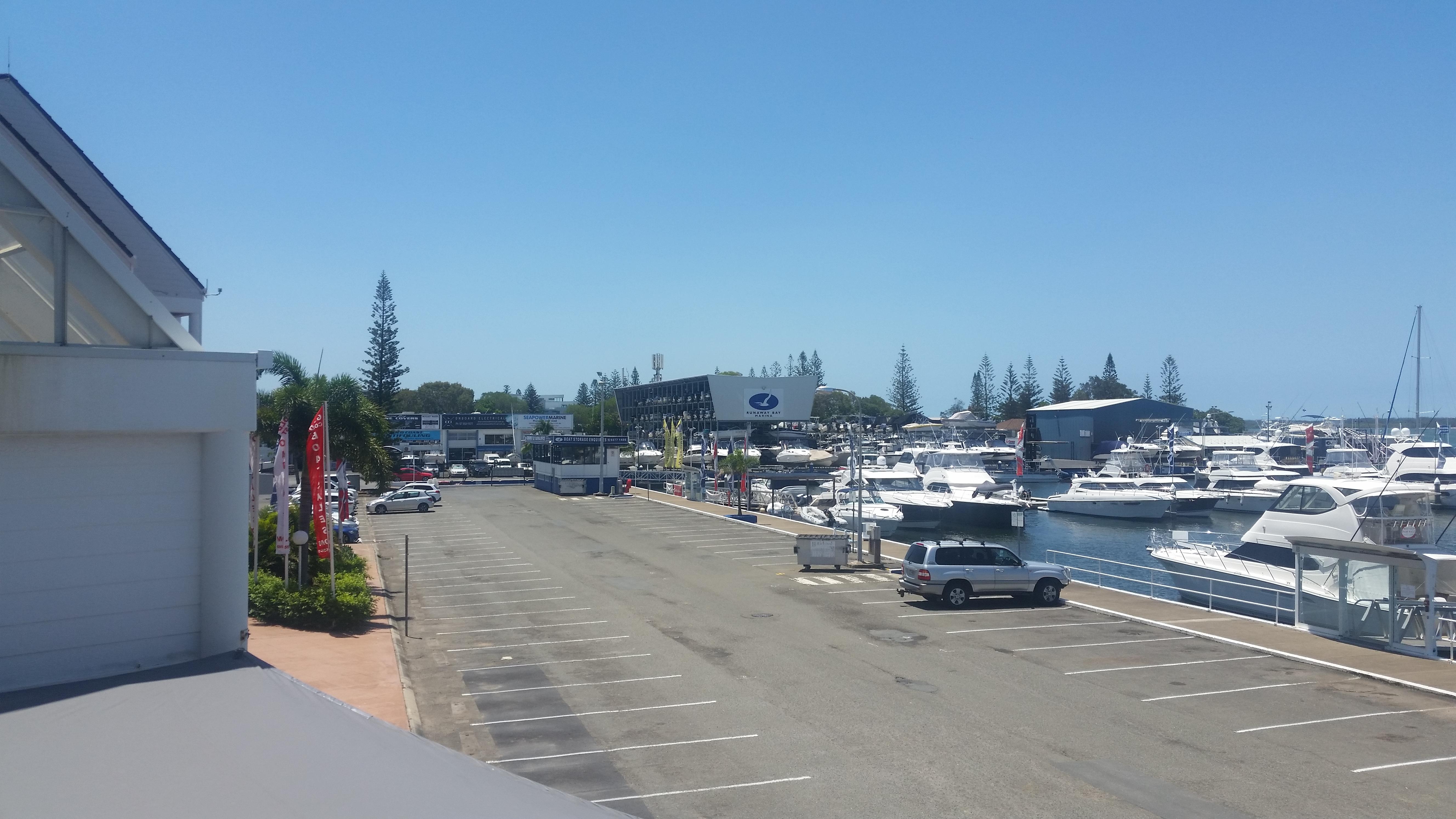 Carpark work Runaway Bay Marina