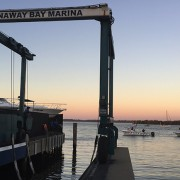 boat rescue at runaway bay marina
