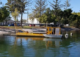 dredging at the marina