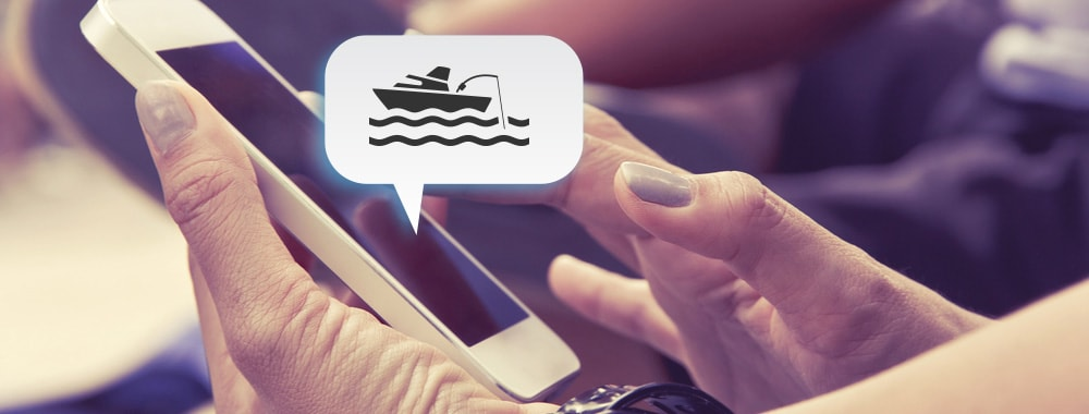 text to launch boat service