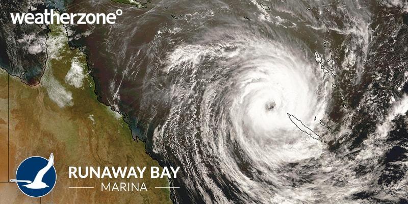 Cyclone Oma 2019 Gold Coast weather zone