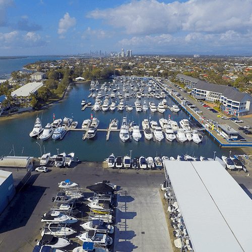 marina and dry boat storage